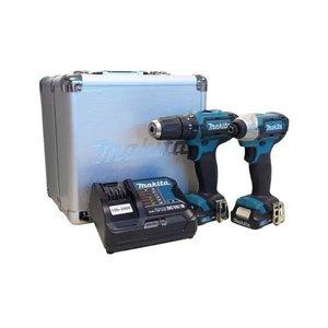Furadeira E Parafusadeira Bateria Bivolt Makita Clx202sax