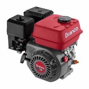 Motor À Gasolina Horizontal 4T 6.9Cv 208Cc B4T-7.0H Branco
