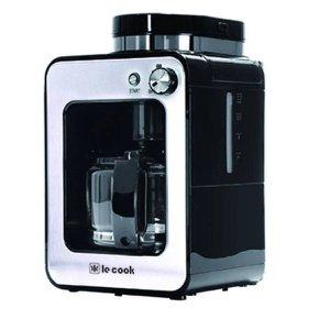 Maquina De Café Expresso Automática 2 Em 1 Com Moedor De Grãos E Pó 127v Le Cook