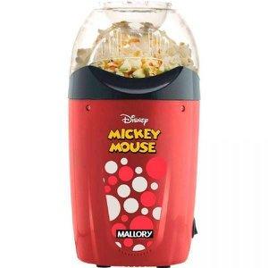 Pipoqueira Mallory Disney Mickey Mouse, Vermelha e Preta, B98700141, 110V