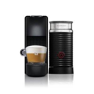Cafeteira Nespresso Essenza Mini C30, 0.6L, 1450W, Café Cremoso, Aeroccino, Preto - 220V