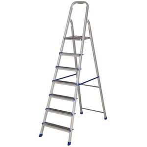 Escada Aluminio Resid.07 Degraus - Alustep