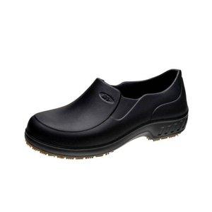 Sapato Flex Clean Croc Cozinha Chef Antiderrapante Preto Epi