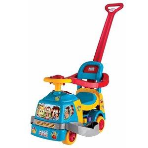 Andador Bichos Com Aro Com Som 1014 Azul - Magic Toys