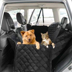 Capa Pet Dobravel Impermeavel Protetora Caes Gatos para Bancos de Carros