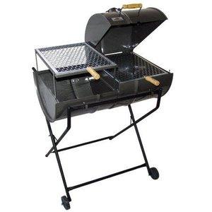 Churrasqueira A Carvão Mixta Meio Bafo Grill Grande Mc-100.2