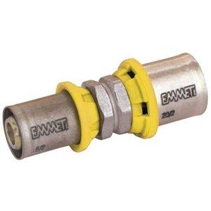 União Intermediária Redução Para Gás 32 X 26mm - Prensar Emmeti