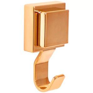 Gancho Cabide Banheiro Cobre Rosé Gold Fixação Ventosa