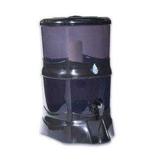 Filtro De Água 14 Litros Natália Cristal Preto