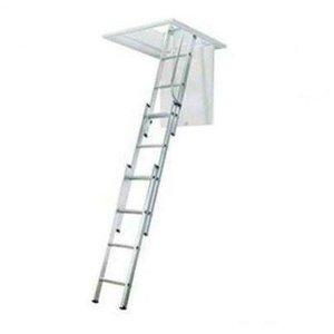 Escada de Sótão De Alumínio 3,20 mt (3 Lances ) Alulev