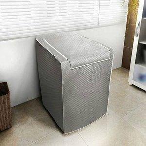 Capa para Máquina de Lavar Panasonic com Zíper de 12 Á 16Kg Grafite