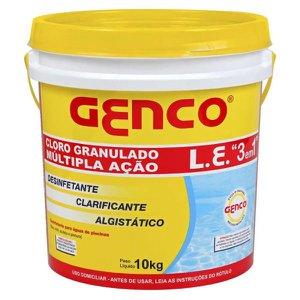 Cloro Granulado 3x1 GENCO 10 kg 10 kg