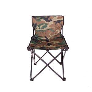 Cadeira Dobrável com Encosto Camuflado Araguaia Premium Bel Fix
