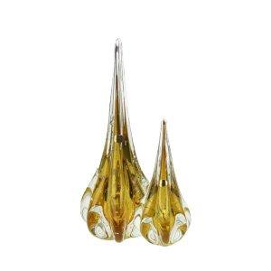 Kit Gotas de Murano D'Labone - Cristal Âmbar (2 Peças)