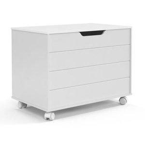 Baú Toy - Branco Soft - Matic Móveis