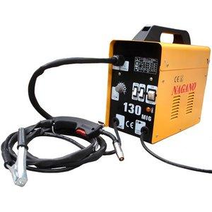 Máquina de Solda MIG, 130 Ampéres - Monofásica , 60 Hz- MN130A - 110v