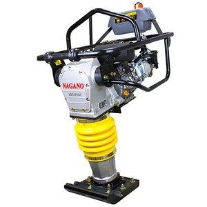 Compactador de Solo tipo sapo a Gasolina 6.5 HP Motor Loncin Motor de 4 tempos - NCSLON