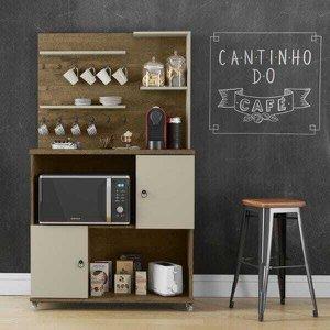 Cantinho do Café Aconchego Cor Demolição/Off White