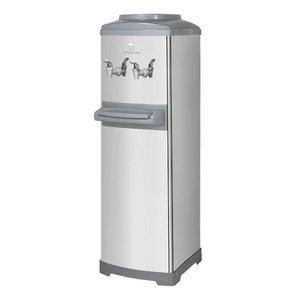 Bebedouro Refrigerado Por Compressor De Coluna Aço Inox K10 Galão - 220v