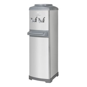 Bebedouro Refrigerado Por Compressor De Coluna Aço Inox K10 Galão - 110v