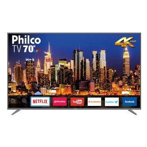 "Smart TV Philco LED 4K 70"" PTV70Q50SNSG Bivolt"