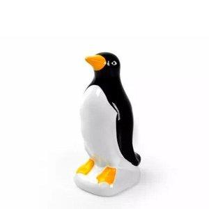 Pinguim Imperador em Cerâmica Decorativo