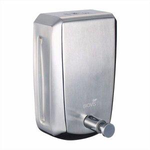 Dispenser Sabonete Liquido Saboneteira Inox Escovado 800 Ml Biovis