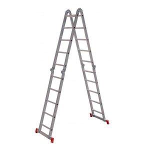 Escada Super Articulada Multifuncional 20 Degraus Alumínio 13 Posições ESC0294 Botafogo