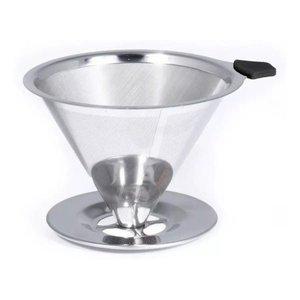 Coador Filtro Café Aço Inox Sem Papel Original Cozinha