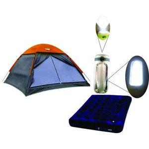 Barraca de Camping 4 Pessoas Weekend com Colchao de Casal + Lanterna de Brinde