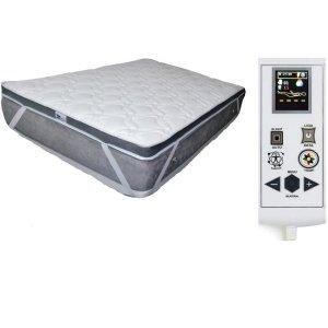 Pillowmanta Quântica 21 Massagem Magnético Sleep Infravermelho Longo Terapêutico-Casal