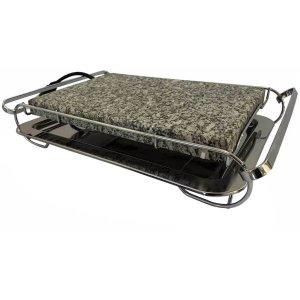 Grill Chapa Elétrica Grelha De Pedra Granito Para Cozimento Stone Grill 127 Volts