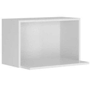 Porta Microondas 70 Cm 100% MDF Kali Premium 3051.0 Branco Nicioli