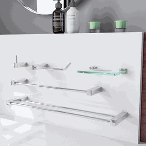 Acessórios para Banheiro Duplo Metal Prátika 800PK Grego Metal