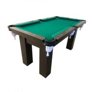 Mesa de sinuca bilhar snooker - base de pedra rm3 - tecido verde - bilhares engers