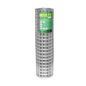Tela para Alambrado Soldada Galvanizada Insul Multy Uso 1,65 mm, 0,50 x 25 metros
