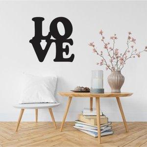 Love Decoração Parede - Letras Decorativas 60cm