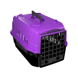 Caixa De Transporte N.2 Cão Cachorro Gato Pequena Lilas