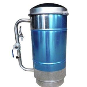 Filtro de Caixa d'água para Entrada Central 500 l/h Inox Tecsol