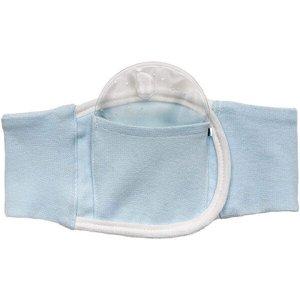 Cinta termica para colica do bebê buba baby azul