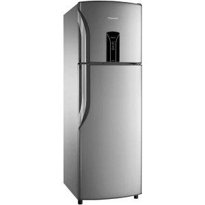 Geladeira / Refrigerador Panasonic, Frost Free, Duplex, 387L, Aço Escovado - NR-BT40B - 220V
