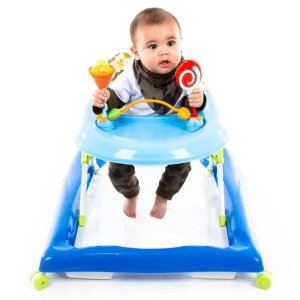 Andador de bebê Até 12 Kg Baby Step Azul Voyage