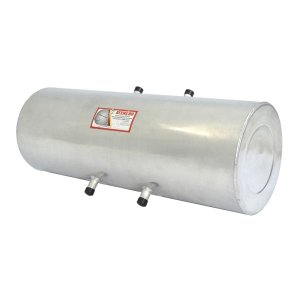 Cilindro em alumínio 60x32cm 45 litros com suporte