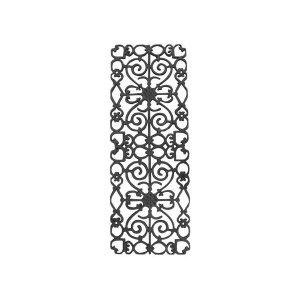 Grade de Ferro Fundido Ramada Sacada Varanda Escada 95x36cm