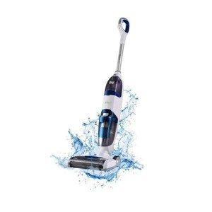 Extratora e Limpadora de Piso Vertical Wap Floor Cleaner Mob - Branco/Azul
