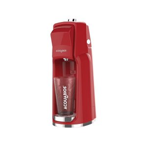 Filtro Purificador de Água Linha Easy Com Tripla Filtração Original Acquabios - Vermelho