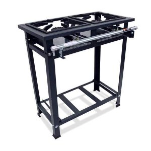 Fogão Industrial 2 Bocas 30x30 Alta Pressão P5 Compact - MetalFour