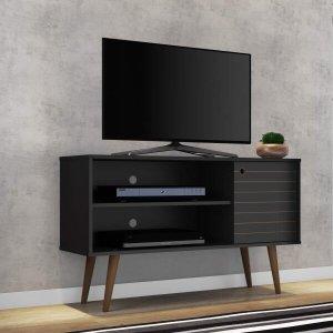 Rack para TV até 42 Polegadas 1 Porta Retrô Jade Móveis Bechara