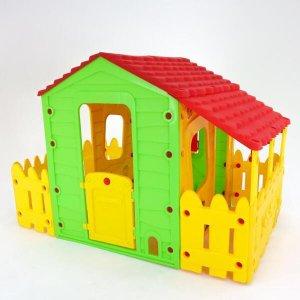 Casa Infantil Casinha de Brinquedo Com Varanda, Portátil BelFix Bel Brink