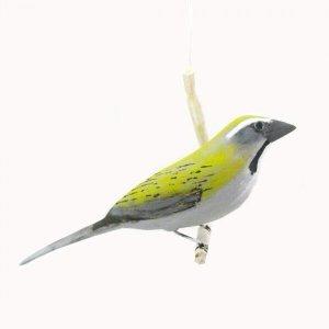 Pássaro de Madeira Trinca Ferro Pixarro Grande